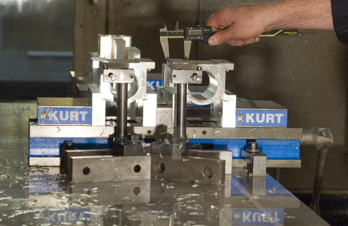 Pierce aluminum milling, turning, and finishing.