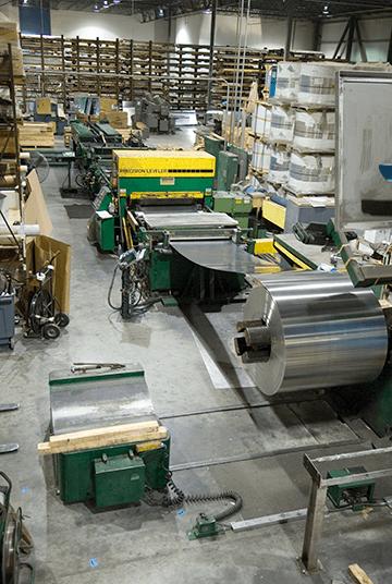 Pierce Aluminum cut-to-length (CTL) sheet processing.