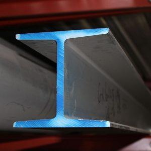 Pierce Aluminum beam