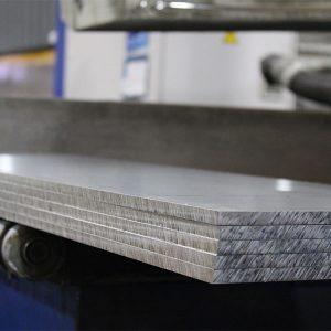 Pierce Aluminum plate