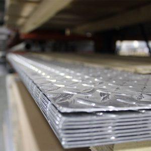 Pierce Aluminum tread