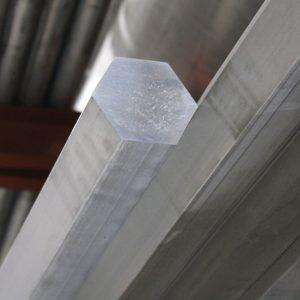 Pierece Aluminum hex bar