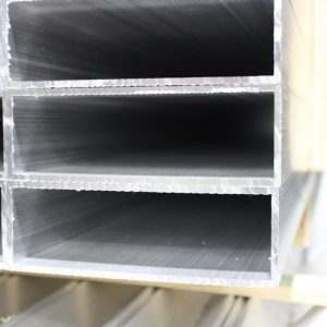 Pierce Aluminum rectangular tube