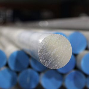 Pierce Aluminum round bar